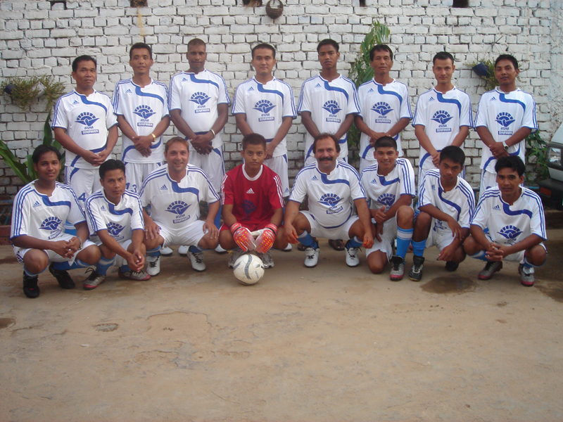 Asha Bhawan Football team